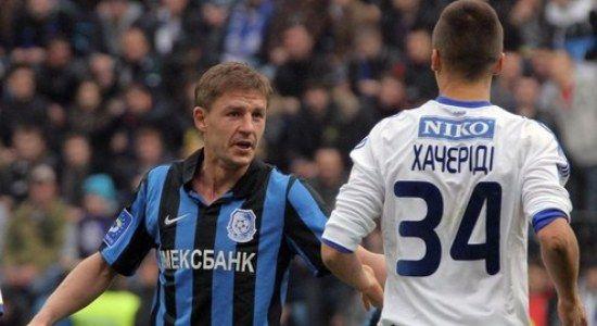 Шацких в игре с Динамо, фото chernomorets.odessa.ua