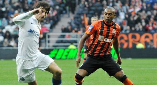 Фернандиньо в матче против Черноморца, фото Михаила Масловского, Football.ua