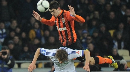 Тарас Степаненко против Дениса Гармаша, фото shakhtar.com