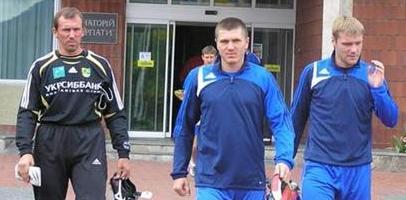 Горяинов, Валяев и Слюсар, фото metallist.kharkov.ua