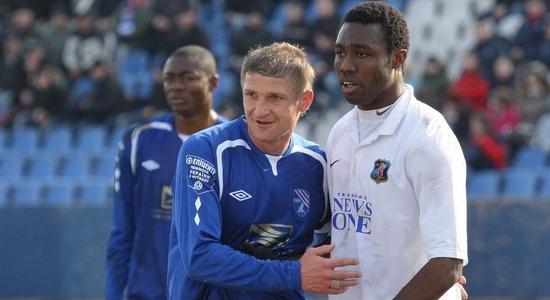 Владимир Езерский в игре с Арсеналом, фото sctavriya.com