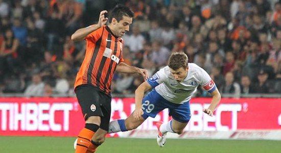 Руслан Ротань против Илсиньо, фото Football.ua