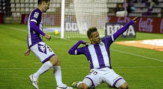 Очередной гол Эберта принес Вальядолиду ничью, фото marca.com