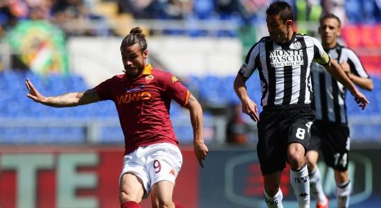 Пабло Освальдо в матче против Сиены, Getty Images