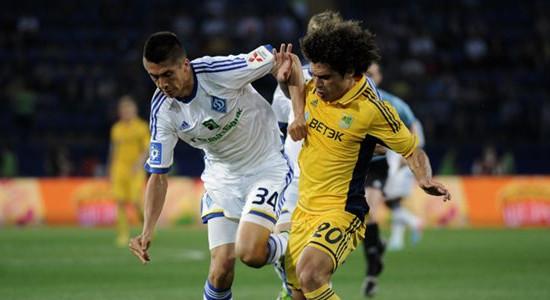 Марсио Азеведо против Евгения Хачериди, фото Дмитрия Неймырка, Football.ua