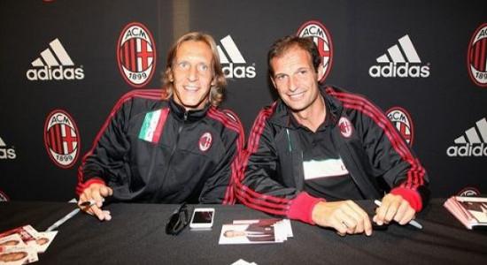 Массимо Амброзини и Массимилиано Аллегри. Фото diggita.it