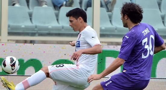 Лука Тони принес Фиорентине победу. Фото Getty Images