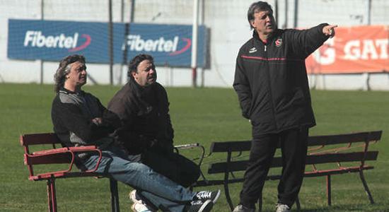 Херардо Мартино (справа), ole.com.ar
