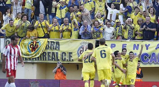 Вильярреал ликует, фото marca.com