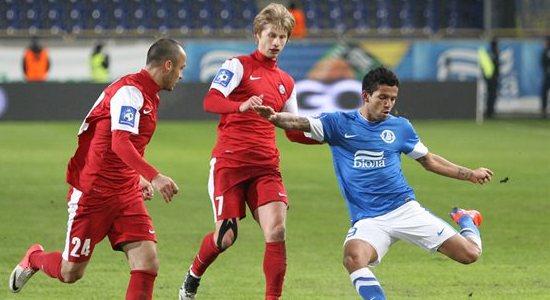 Валерий Федорчук в матче против Днепра, фото Станислава Ведмидя, Football.ua