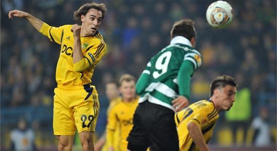 Рикки ван Вольфсвинкель забивает в ворота Металлиста, Getty Images