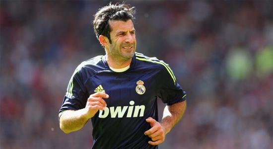 Луиш Фигу в Матче легенд между Реалом и Ювентусом, Getty Images