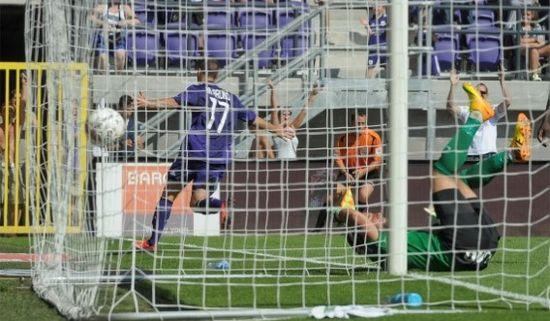 Бруно - автор единственного и победного гола, Photo News