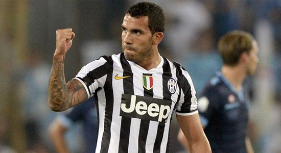 Карлос Тевес, goal.com