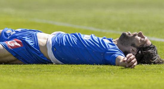Лафита забил и заработал пенальти, фото marca.com