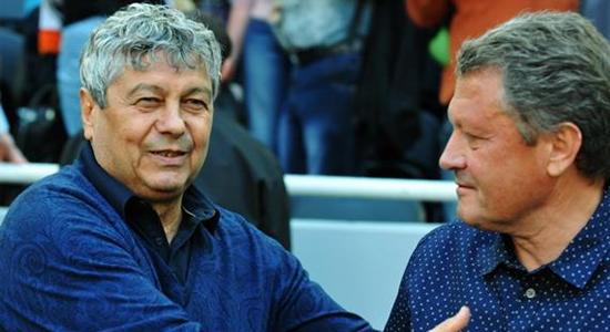 Мирча Луческу и Мирон Маркевич, фото Football.ua