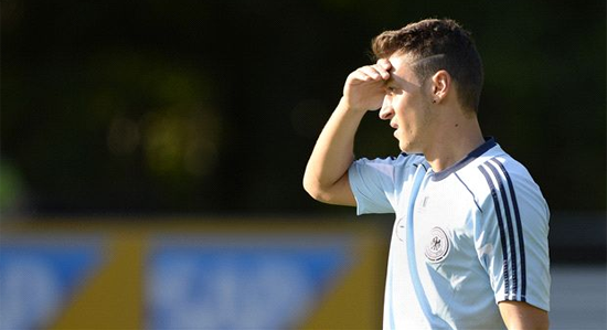 Месут Езил в сборной Германии, фото goal.com
