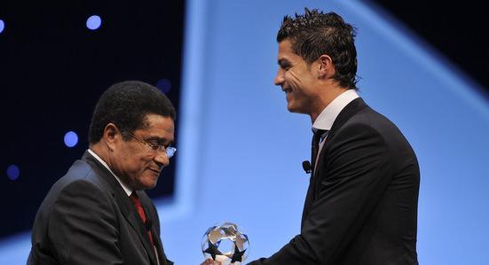 Эйсебио и Криштиану Роналду, фото Getty Images