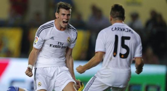Бэйл забил дебютный гол за Реал, Getty Images