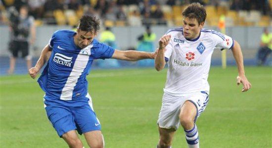 Вукоевич в матче прошлого тура против Днепра, фото Football.ua
