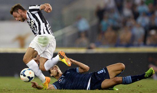 Клаудио Маркизио в матче против Лацио, Getty Images