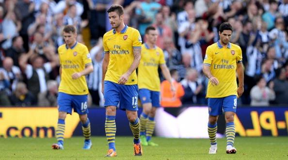 Серия выездных побед Арсенала завершилась, Getty Images