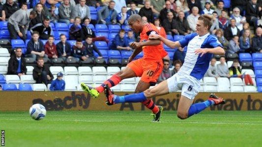 Бекфорд забивает Бирмингему, фото bbc.co.uk