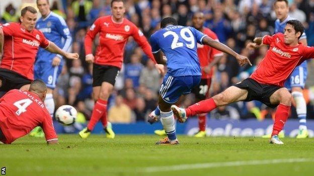 Это`О забил первый мяч за Челси, фото РА