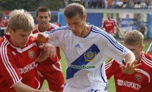 Динамовцев почти огорчили, фото fcmetalurg.com