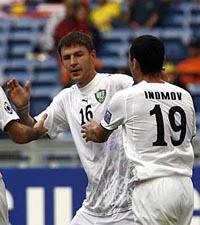Макс - лидер сборной Узбекистана