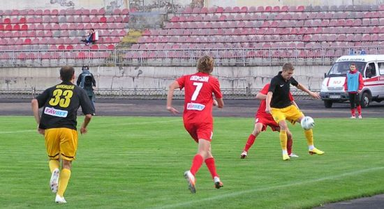 Свой лучший матч Александрия, пожалуй, сыграла в Алчевске, фото fcstal.lg.ua