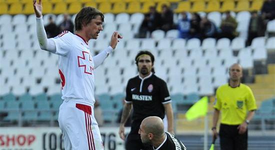 У Богдана Шершуна контракт рассчитан до лета. Фото Football.ua