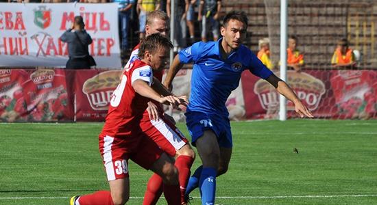 Константин Кравченко готов бороться за место в основе, фото fcilich.com