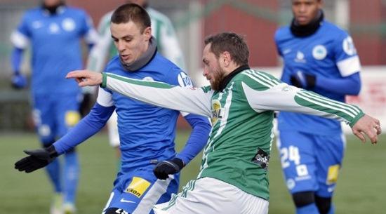 Коркишко в матче с Богемианс, фото fotbal.idnes.cz
