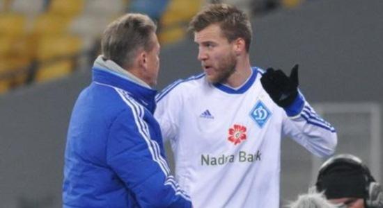 Олег Блохин и Андрей Ярмоленко, Football.ua
