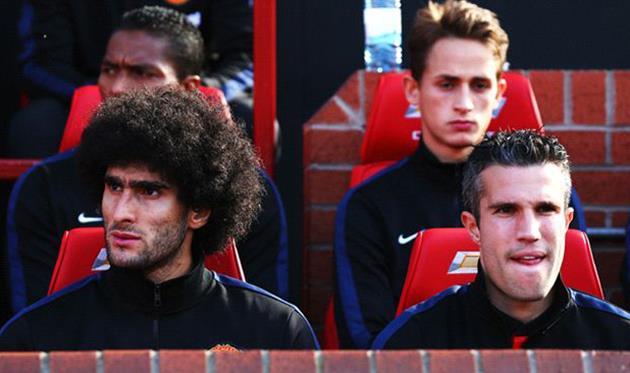 Феллаини и ван Перси возвращаются, Sky Sports