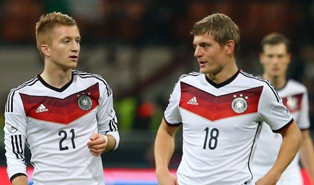 Марко Ройс и Тони Кроос, Фото Bundesliga.com