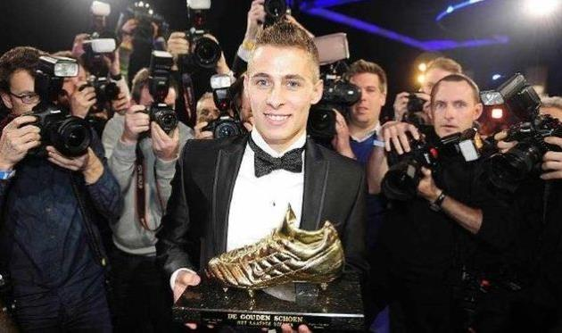 Торган Азар - лучший игрок 2013 года в Бельгии, belga