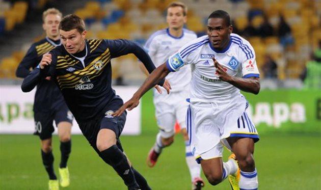 Браун Идейе (справа). © ИЛЬЯ ХОХЛОВ, Football.ua