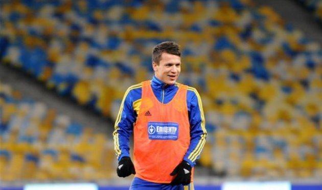 Евгений Коноплянка, © Илья Хохлов, Football.ua