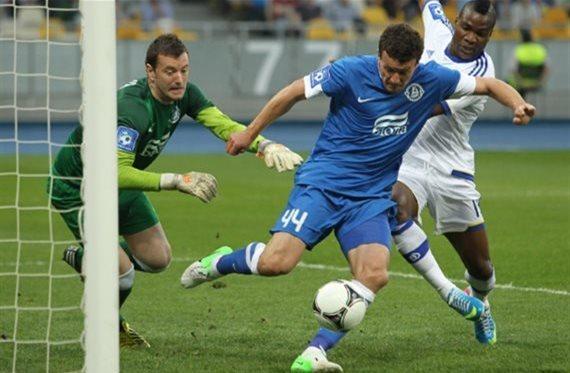 Федецкий в матче с Динамо, фото Football.ua