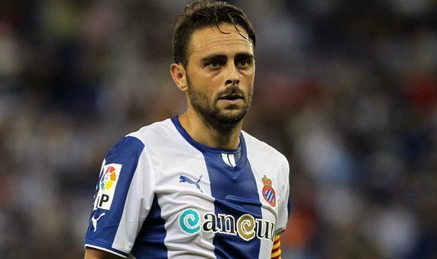 Серхио Гарсия провел хороший матч и сделал ассист, фото sport.es