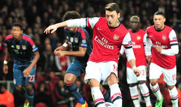 Промах Езила дорого стоил Арсеналу, Getty Images