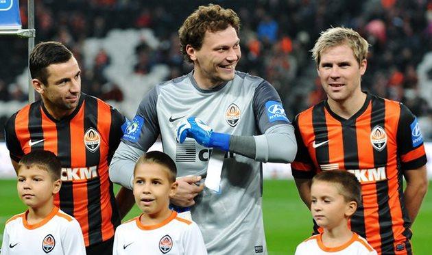 Пятов надеется на быстрый гол, фото Михаила Масловского, Football.ua