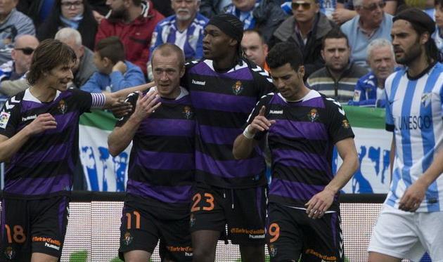 Вальядолиду удалось отыграться в Малаге, фото diariosur.es