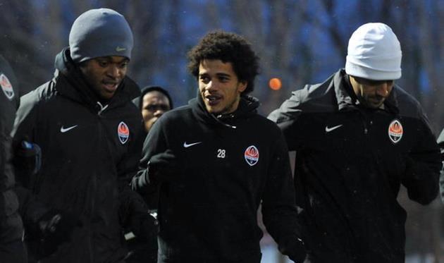 Луис Адриано, Тайсон и Илсиньо, фото М. Масловского, Football.ua