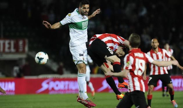 Матч в Эльче был суров, фото elcorreo.com