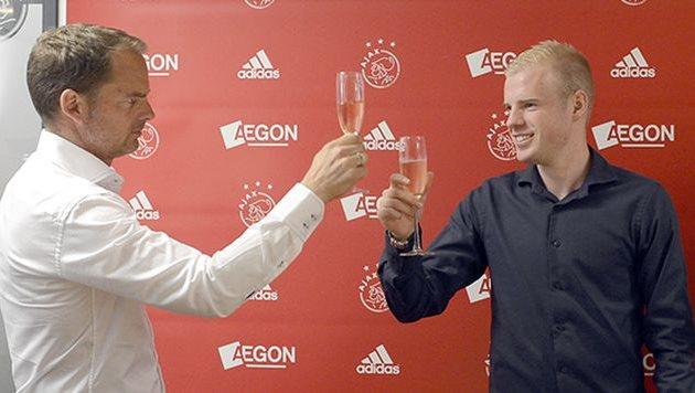 Франк де Бур и Дэви Клаассен, фото ajax.nl