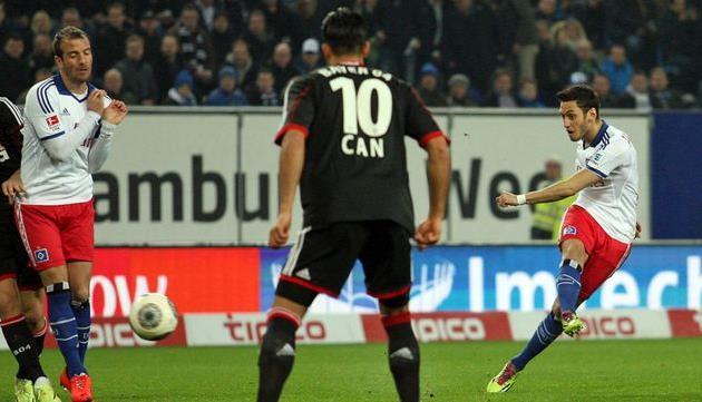 Хакан Чалханоглу открывает счёт, фото kicker.de