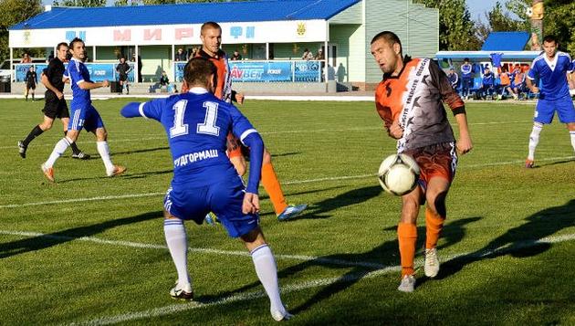Еще осенью Мир и николаевская Энергия играли во второй лиге, фото ФК Мир